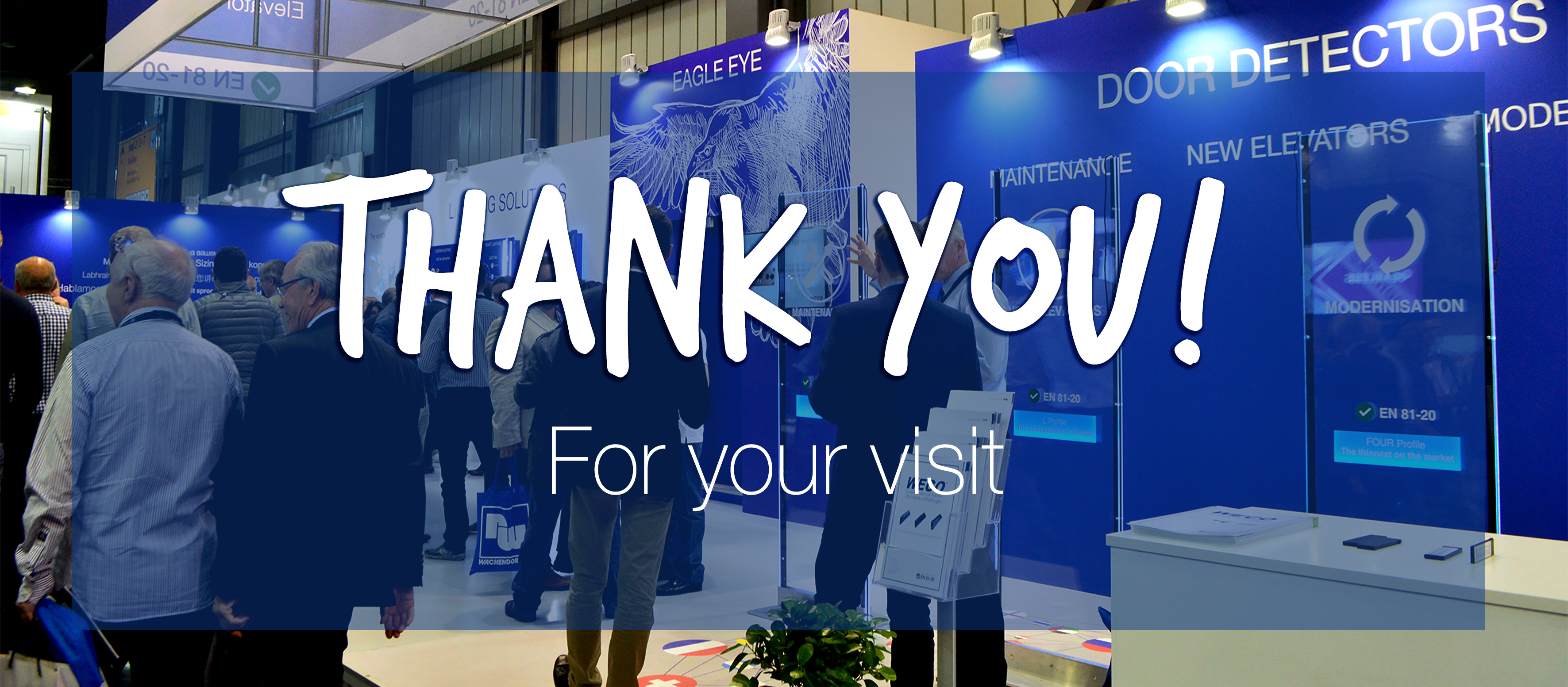 Thank you for your visit – Interlift 2017